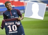 Player Frame Neymar PSG