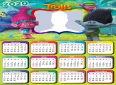 Trolls Calendar 2020 Photo Collage