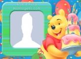 Pooh Birthday Frames Online