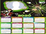 Ben 10 Toys Calendar 2020 Picture Frame