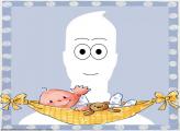 Picture to Cartoon Sleeping Baby Cartoon