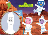 Backyardigans in Mars Picture Collage Maker Free