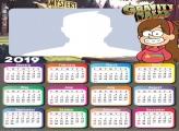 Mabel Gravity Falls Calendar 2019