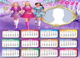 Calendar 2021 Barbie Princess Charm School
