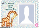 Our First Mothers Day Photo Collage