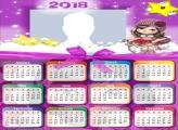 Calendar 2018 Jolie Star