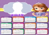 Sofia Princess Calendar 2019