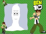 Ben 10 Green Background Photo Collage Free