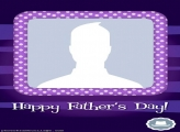 Purple Happy Fathers