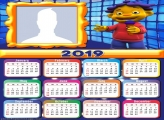 Sid the Science Kid Calendar 2019