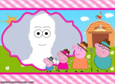 Peppa Family Picture Frame Collage