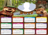 Yogi Bear Calendar 2019