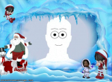 Santa Claus and Kids Photo Collage Online Free
