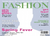 Fashion Magazine Cover Template