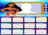 Photo Frame with Moana Calendar 2020