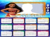 Photo Frame with Moana Calendar 2020