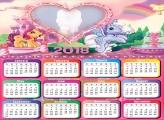 Calendar 2018 Ponny Colors