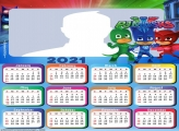 Calendar 2021 PJ Masks
