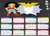 Cute Wonder Woman Calendar 2019