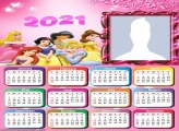 All Disney Princesses Calendar 2021