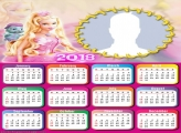 Calendar 2018 Barbie and Bibou