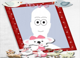 Dogs and Cats Cartoon Frame Online