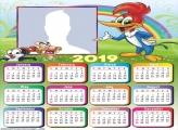 Woodpecker Calendar 2019