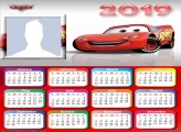 Lightning McQueen Calendar 2019
