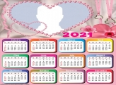 Calendar 2021 For Lovers