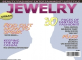 Jewelry Magazine Cover Template