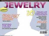 Jewelry Magazine Cover Template