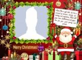 Merry Christmas Phrase Photo to Collage