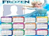 Calendar 2021 Elsa Frozen