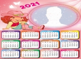 Calendar 2021 Strawberry Shortcake