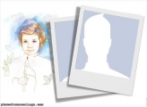 First Communion Candle Collage