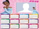 Princess Tiana Calendar 2019