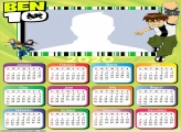 Picture Collage Ben 10 Calendar 2020