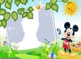 Mickey Mouse Easter Frame