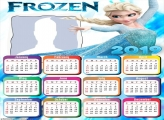 Elsa Frozen Princess Calendar 2019