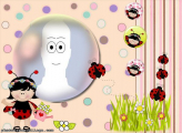 Ladybug Cartoon Frame Online Collage