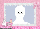 Baby in Pink Picture Collage Maker