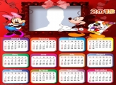 Calendar 2018 Mickey e Minnie