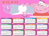 Baillarina Peppa Pig Calendar 2020