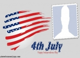 Flag USA Independence Day Photo Collage