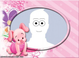 Picture Collage Little Piglet Frame Online