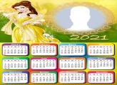 Calendar Princess Belle